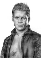 Chris Jericho Pencil Drawing by Chirantha