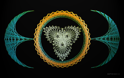 String art wallpaper 0002 by stem75
