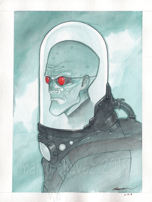 mr freeze by MarioChavez