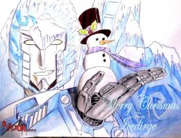 transformers : merry christmas icedirge by puticron