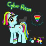 [SOLD] MLP Adopt 2 - Cyber Prism by Lyrizel