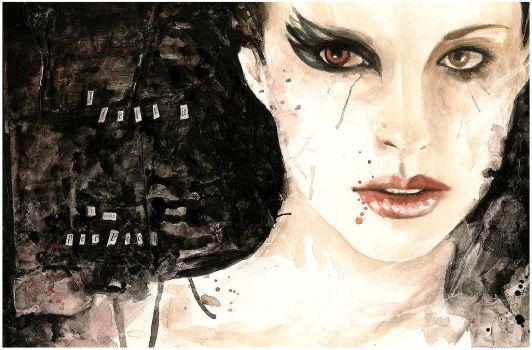 Black Swan by Nachan