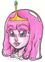 +Princess Bubblegum+ by HellAndroid