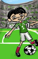 Miguel World Soccer by danielaurista