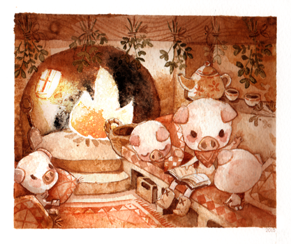 3 Little Pigs by Foyaland