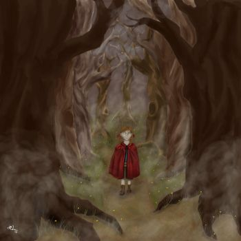 Little Red Riding Hood by AuthorArtemis
