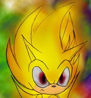 its freaking super sonic by theOrangeSunflower