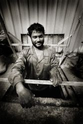 Construction Worker by sathea