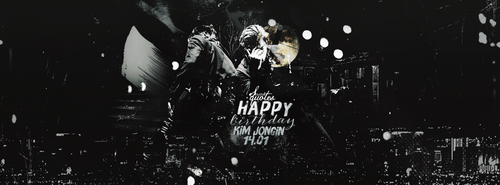 [PSD/GRAPHIC] Happy birhday Kim Jongin - HunKai by stephanieangel28