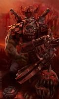 THE RED WAAAGH: Orks by nachomolina