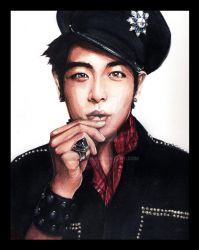 T.O.P watercolour painting by yaokhuan