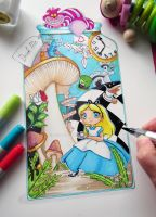 Alice Drawing by LeFay00