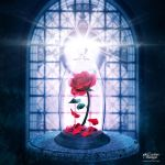 Enchanted Rose Beauty and the Beast by garf600