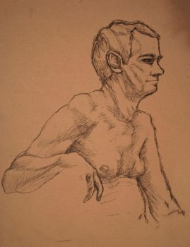 Life Drawing 2 by CorianderCollecter