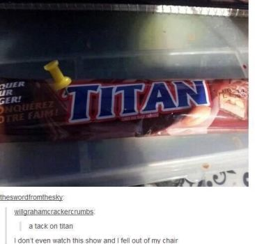 A tack on titan by TheFunnyAmerican