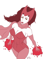 The Scarlet Witch by iMandarr