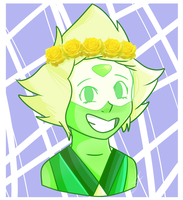 [SU] Flower Crown Peridot by PolipoProductions