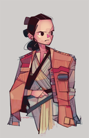 Rey-a-Day 62: The Jacket by michaelfirman