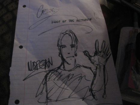 Lead singer of a band drew me this by Greed-Alchemist