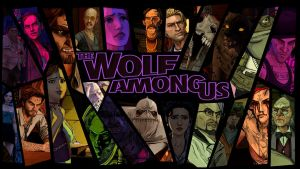 The Wolf Among Us Characters Background by aleco247