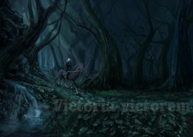 The Witcher 3. Smth that is hidden in the darkness by Victoria-victorem