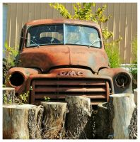 Rusty GMC Truck by TheMan268