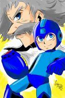 MegaMan Hype by CerberusPink