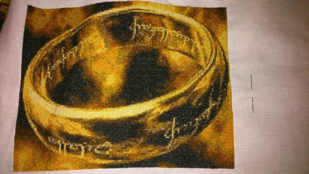 The One Ring Stitching by Clairtjow
