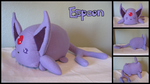 Espeon Loaf by Draga03