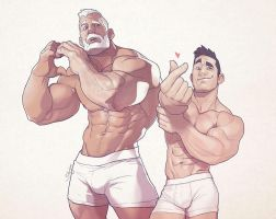 Hunks of the week #60 by silverjow