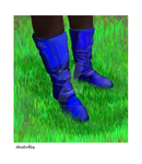 Blue Boots by AlexBerkley