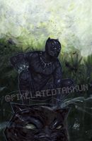 A Glimpse of Wakanda by Pixelated-Takkun