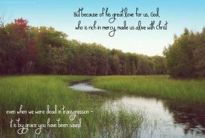 Our God is Rich in Mercy by Bickhamsarah
