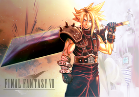 Cloud Strife by BlackExcell