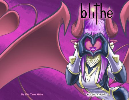 blithe - act two - cover page by teamzoth