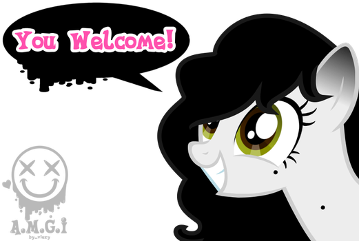 You Welcome!(Bienvendos) by viexy