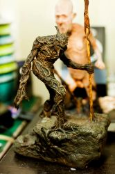 Keeper of the Trees  In Progress Paint by misfitjake