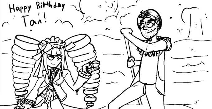 Happy Birthday, Tan! by DrZootsuit