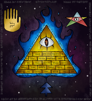 Bill Cipher by UxieSweetie