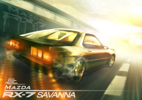RX-7 SAVANNA by BramastaAji
