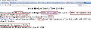 The Hacker Test by Linux4SA