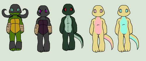 TMNT OC adoptables: 7 by QueenStorm
