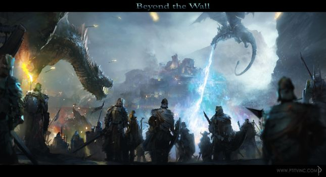 Beyond the Wall by ptitvinc by ptitvinc