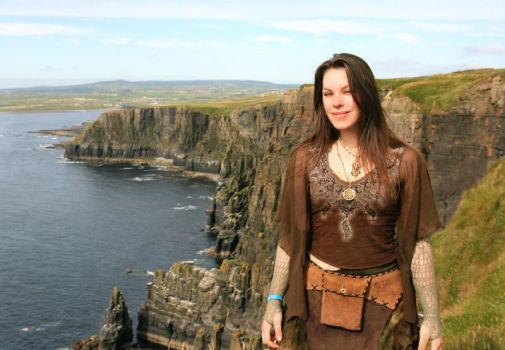 By the Cliffs by Navanna