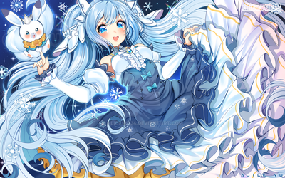 [Hatsune Miku] Snow Miku 2019 by AliceVu134
