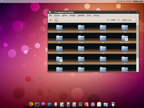 My Ubuntu Desktop - February by Real99