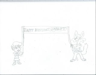 Happy Birthday Muggy 2018 by JacktheCat779