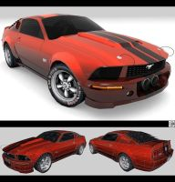 2005 501 BOSS Mustang Concept by pleyr