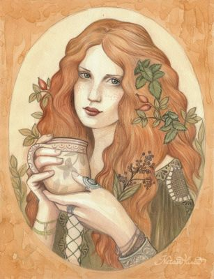 Herbal Tea by NatasaIlincic