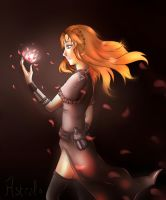 Goddess of Fire by Astral-Chan